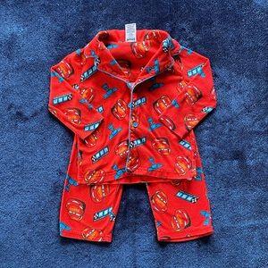 Cars fleece matching pyjama set